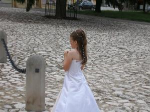 Adélka jako nevěsta