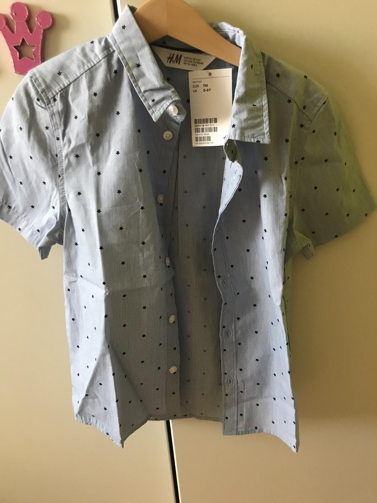 Košeľa H&M  - Obrázok č. 1