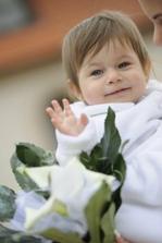 Nase zlatko dcerka Sarah....