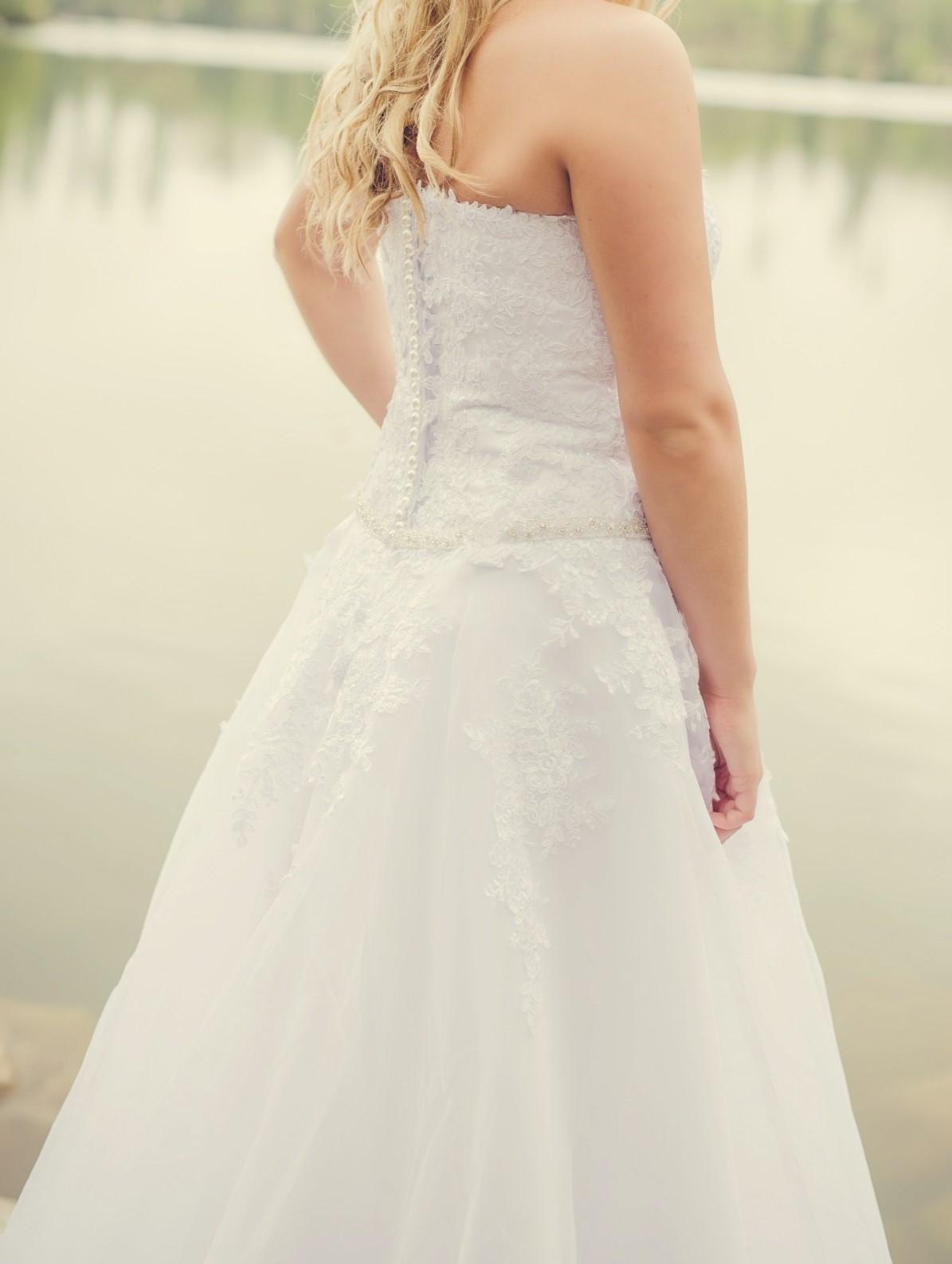 Svadobné šaty-SUPER CENA - Obrázok č. 1