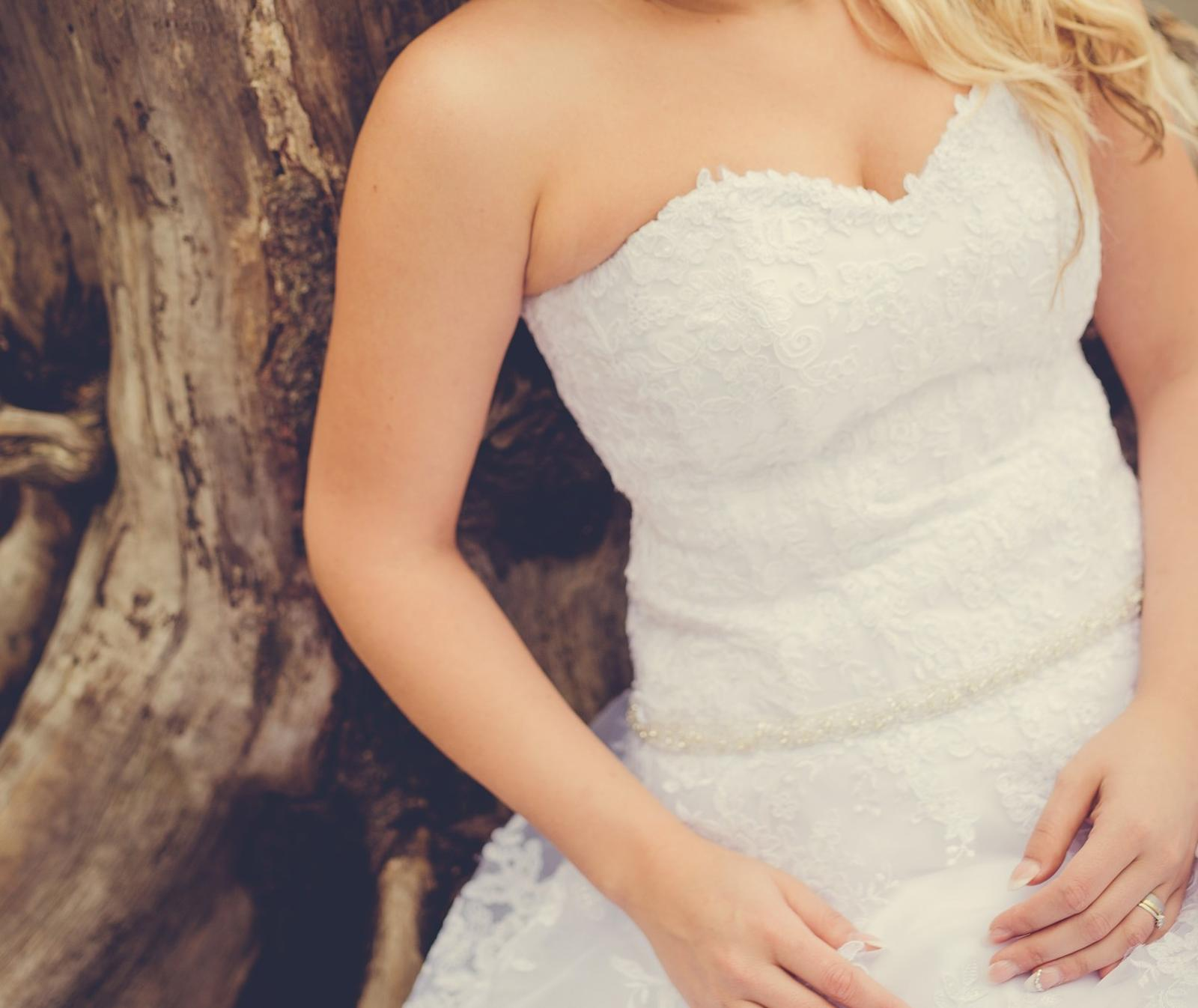 Svadobné šaty-SUPER CENA - Obrázok č. 2