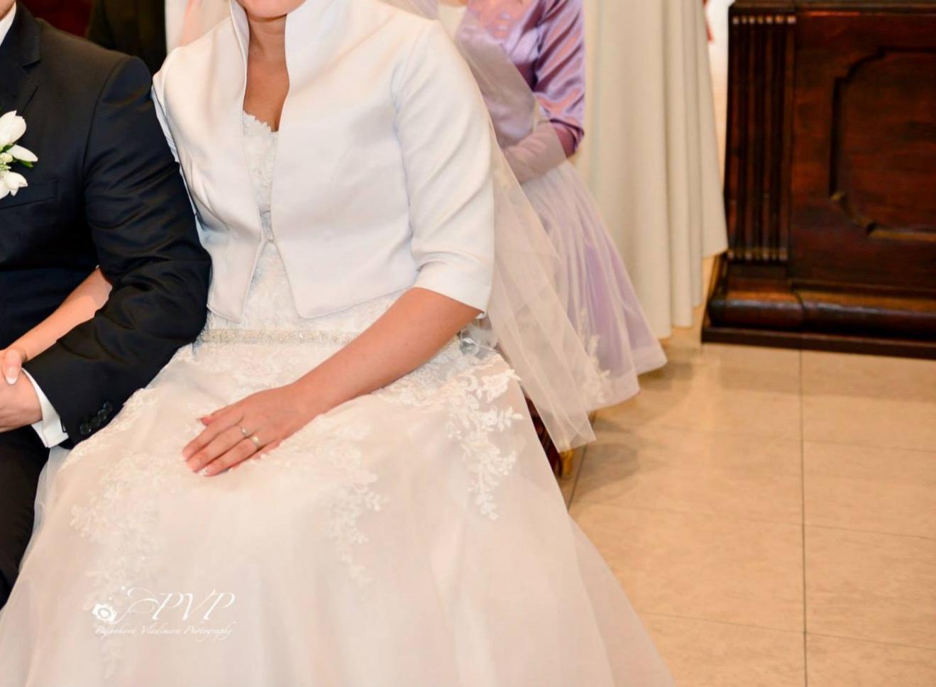 Svadobné šaty-SUPER CENA - Obrázok č. 3