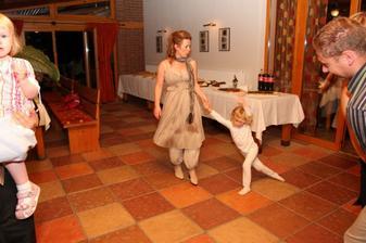 dánska pyžamková tanečnica