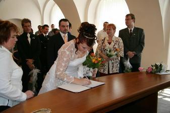 podpis ženy