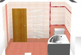 ... návrhy kúpeľne, v tom sme mali jasno od prvej chvíle...