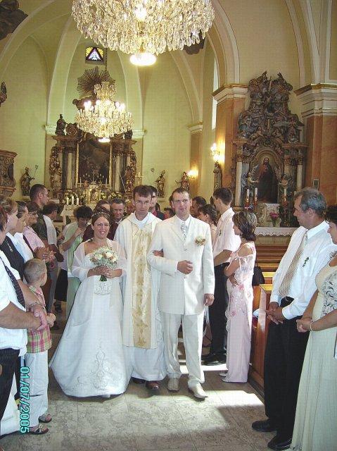 Kristinka{{_AND_}}Jožko - z kostola