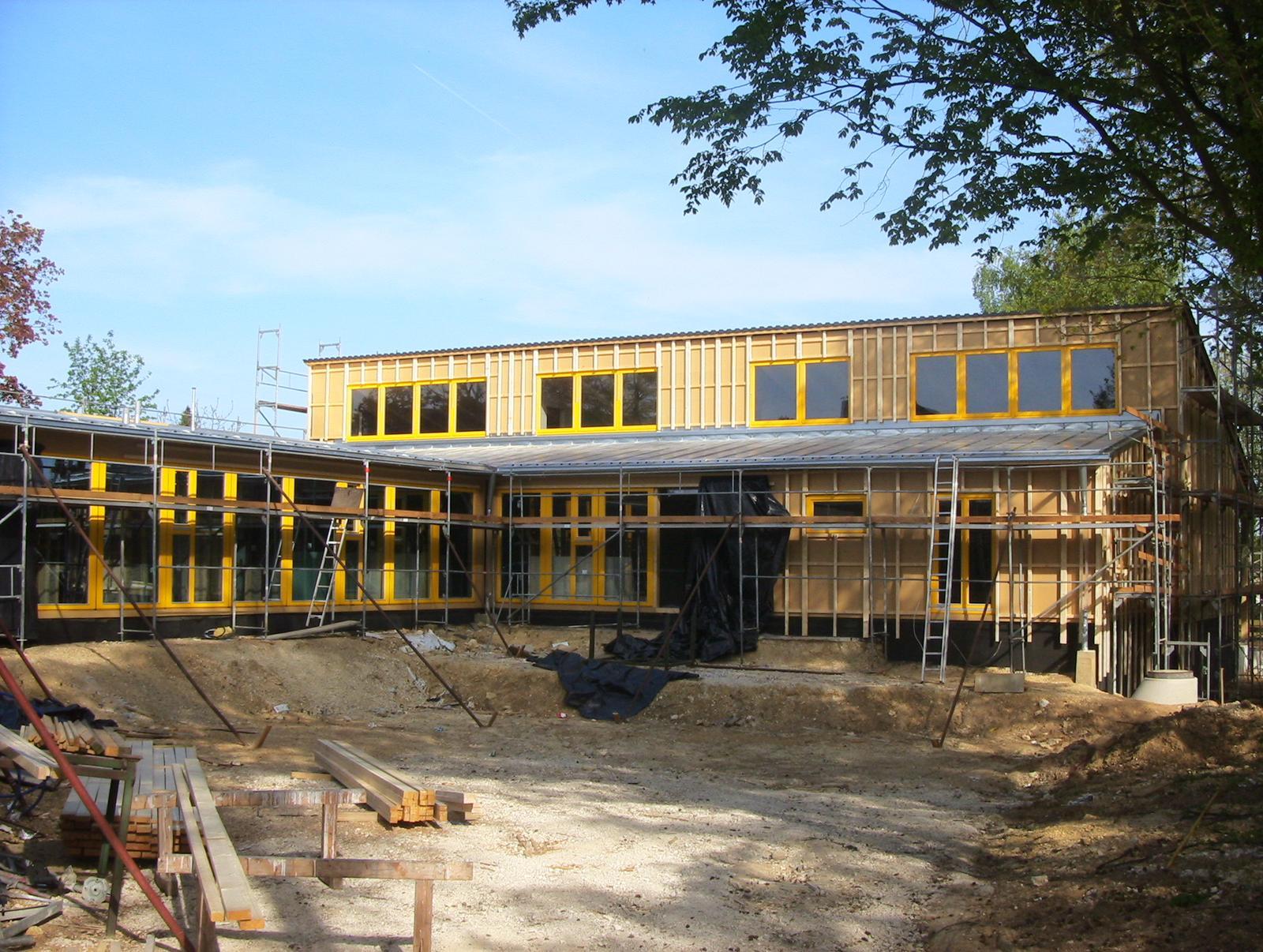 MATERSKÁ ŠKOLA - nízkoenergetická stavba - Bol kladený veľký dôraz na ekologickosť stavby !