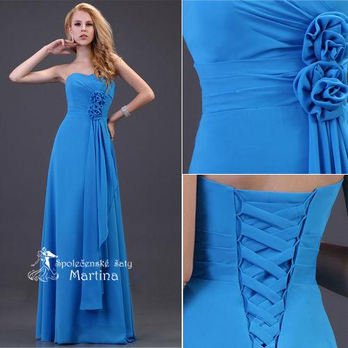 Nádherné plesové šaty :) Doba dodania 2 týždne! - Obrázok č. 5
