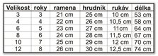 Šaty pre družičku 2-8 rokov, 122