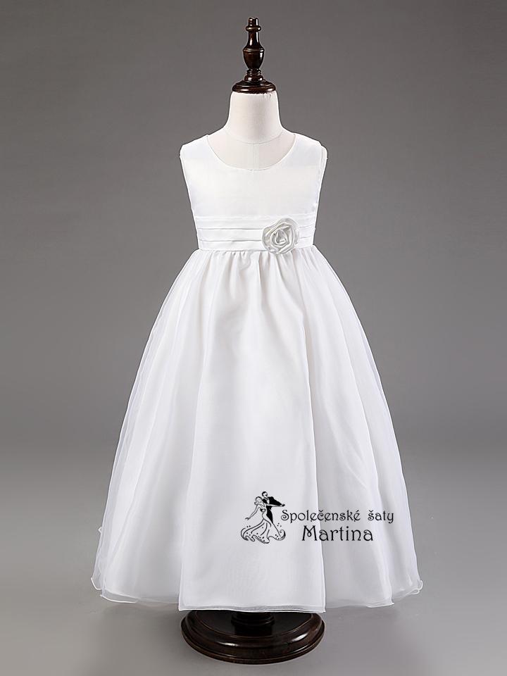 Spoločenské šaty pre družičku 3-9 rokov - Obrázok č. 2