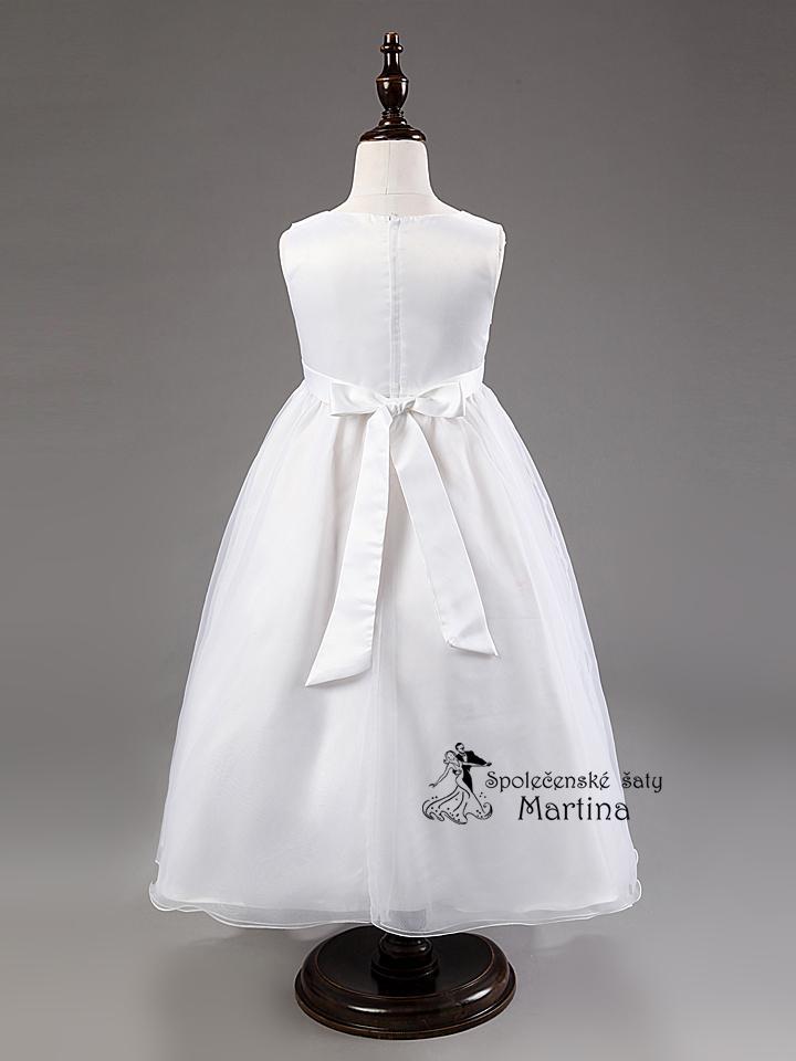 Spoločenské šaty pre družičku 3-9 rokov - Obrázok č. 4