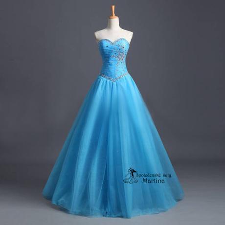Společenské-maturitní-plesové šaty-do tanečních - Obrázok č. 1
