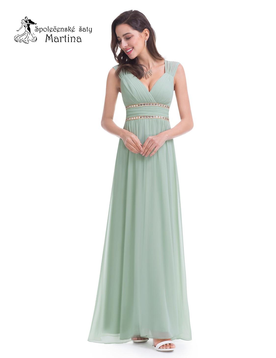 Spoločenské-maturitné-plesové šaty - Obrázok č. 3