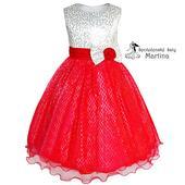 dievčenské šaty, 128