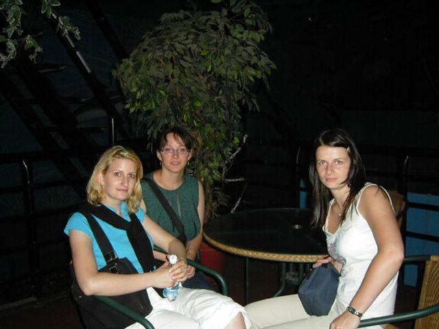 Sraz září 2006 - Aktaka, ValerieM, Elis 0909 v Mořském světě