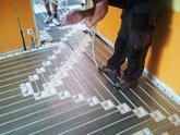 pokládka rúrky suchý systém podlahové kúrenie