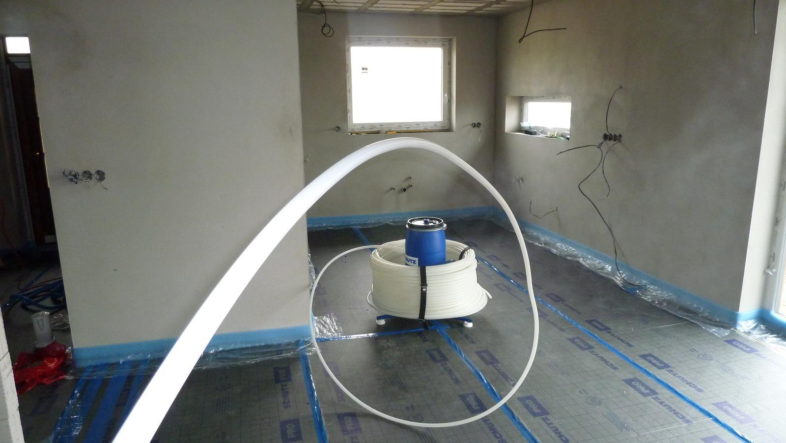 bmmedia - odvíjací bubón na vykurovaciu rúrku podlahové kúrenie