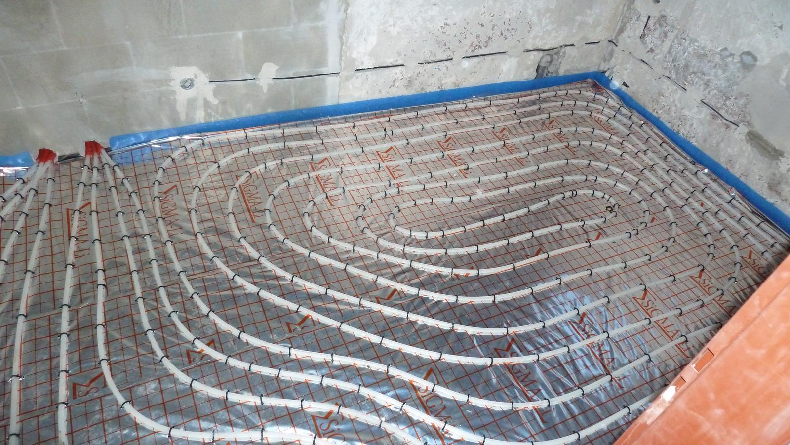 Montáž podlahové vykurovanie obytná jednotka Rača - Obrázok č. 18
