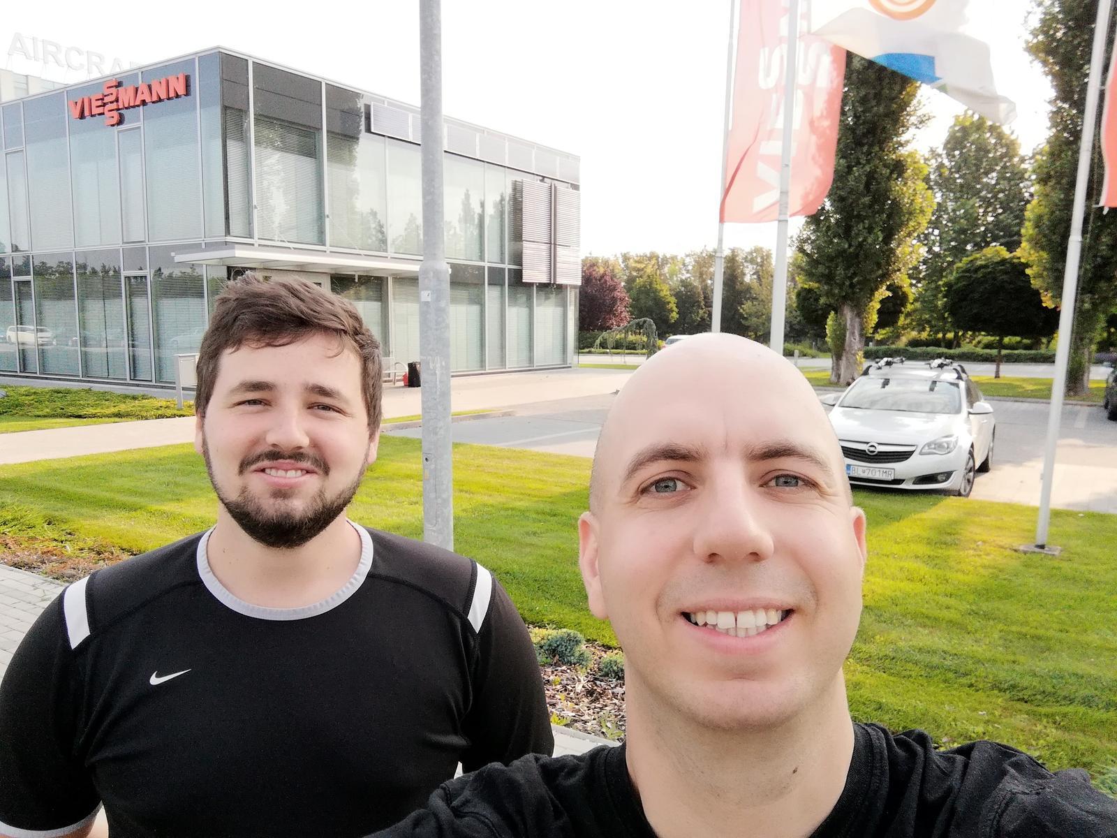 Viessmann Allendorf Nemecko 2018 exkurzia výroby - odchod z Bratislavy