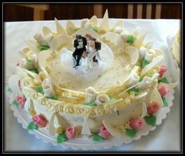 Druhý dort od cukrářky