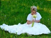 Svadobné šaty - 1x oblečené, 38