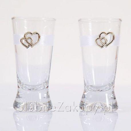 Svadobné poháriky Zlaté srdcia - Obrázok č. 1