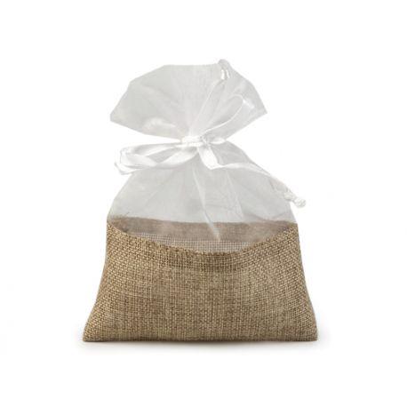 Jutové vrecka na darčeky pre hostí - Obrázok č. 1