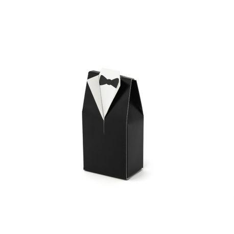 Krabička na darčeky pre hostí - frak - Obrázok č. 1