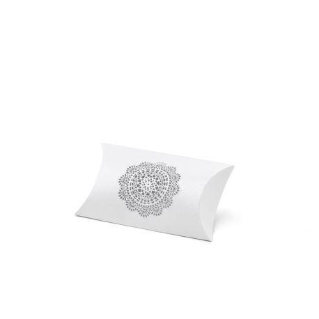 Krabička na darčeky pre hostí s vyrezávanou rozetk - Obrázok č. 1
