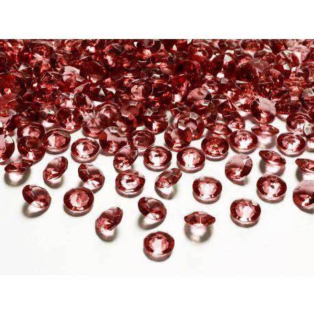Bordové diamanty 12mm  - Obrázok č. 1