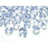 Diamanty 20mm modré/svetlé,