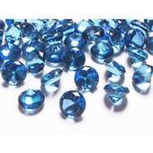 Diamanty 20mm modré/tmavé,