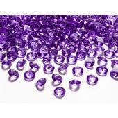 Fialové diamanty 12mm ,