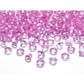 Ružové diamanty 12mm ,