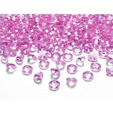 Ružové diamanty 12mm  - Obrázok č. 1