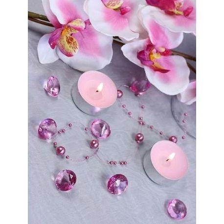 Ružové diamanty 20mm - Obrázok č. 2