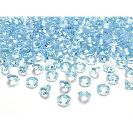 Tyrkysové diamanty 12mm  - Obrázok č. 1