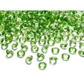 Zelené diamanty 12mm ,