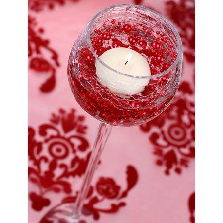 Girlanda perlová 1,3m červená - Obrázok č. 2