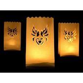 Lampióny šťastia na sviečku - Holubice,