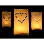 Lampióny na sviečku - Srdce,