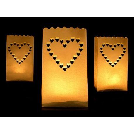 Lampióny na sviečku - Srdce - Obrázok č. 1