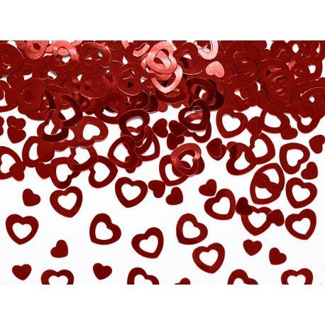 Konfety červené srdcia  - Obrázok č. 1