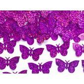 Konfety motýle ružové,