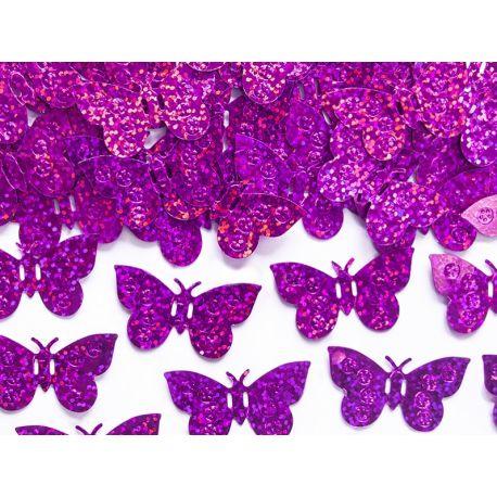 Konfety motýle ružové - Obrázok č. 1