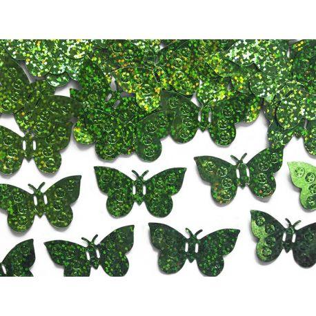 Konfety motýle zelené - Obrázok č. 1