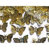 Konfety motýle zlaté,