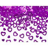 Konfety srdcia ružové,