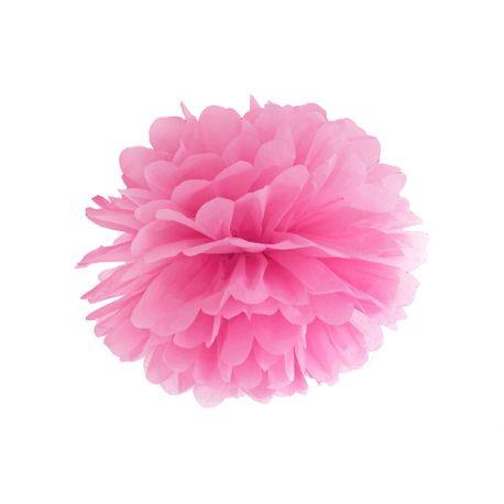 Pom pom ružový - 25cm alebo 35cm - Obrázok č. 1