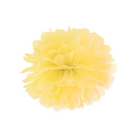 Pom pom žltý - 25cm alebo 35cm - Obrázok č. 1